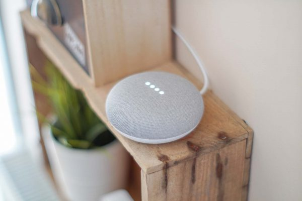 Google Assistant op een Google Home Mini